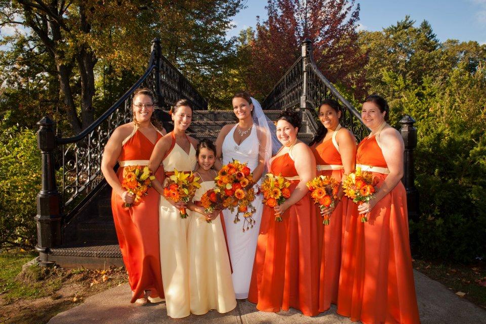 Wedding Ideas By Filomena With Decor And Orange Wedding Flowers