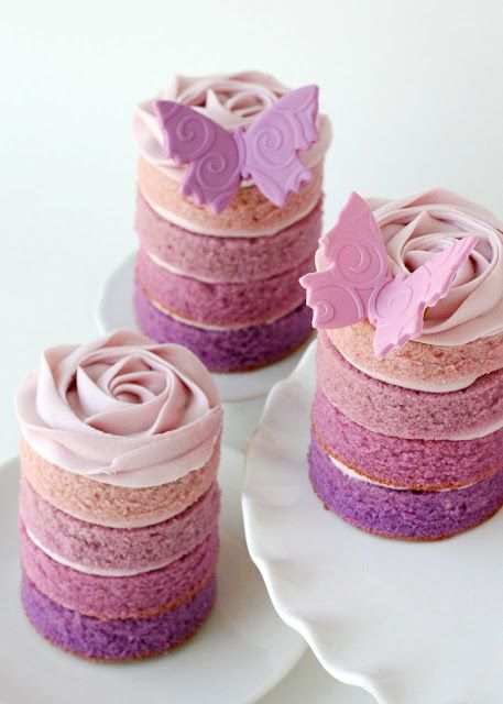 wedding cake ideas ombre