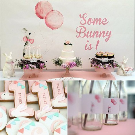 bunny-first birthday theme