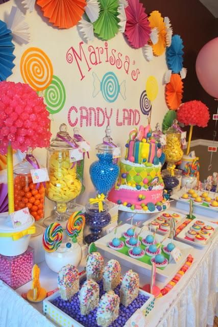 2 year old candyland birthday party