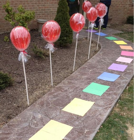 2 year old candyland birthday party idea