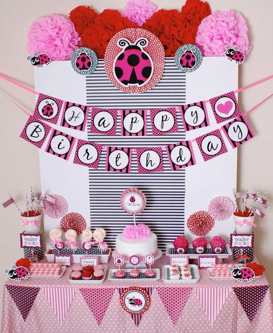 2nd birthday- lady bug theme