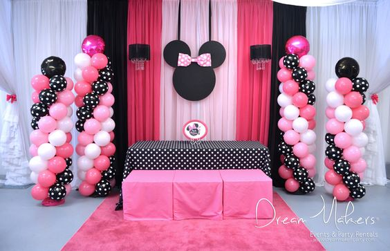 minnie mouse party Especialz
