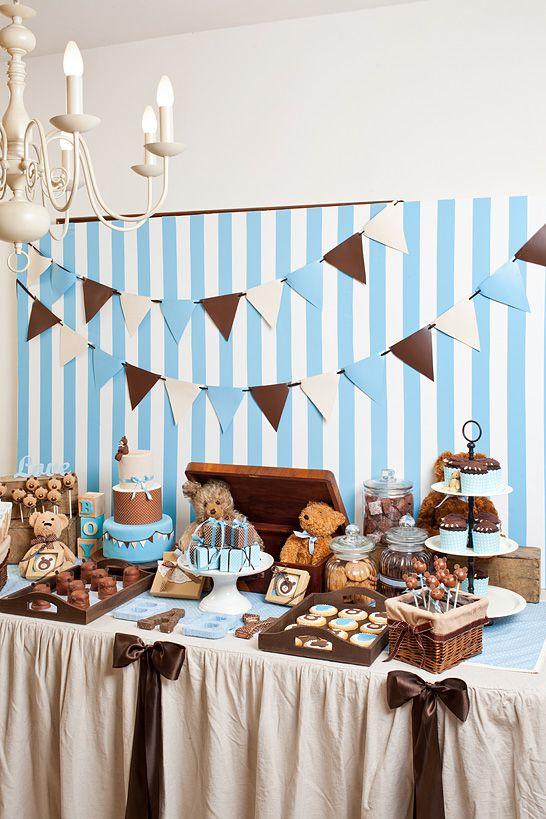 2nd birthday party ideas-bear