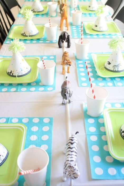 animal-first birthday theme idea