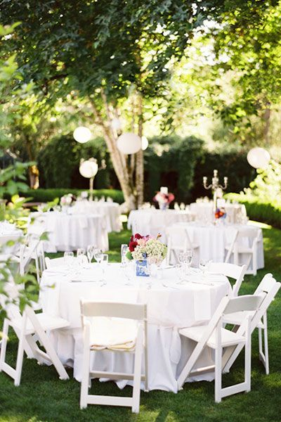 wedding on a budget reception