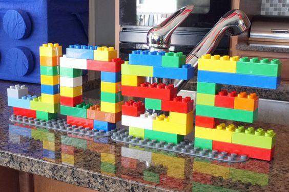 lego birthday theme