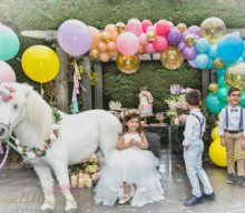 Outdoor Unicorn Birthday Party Idea