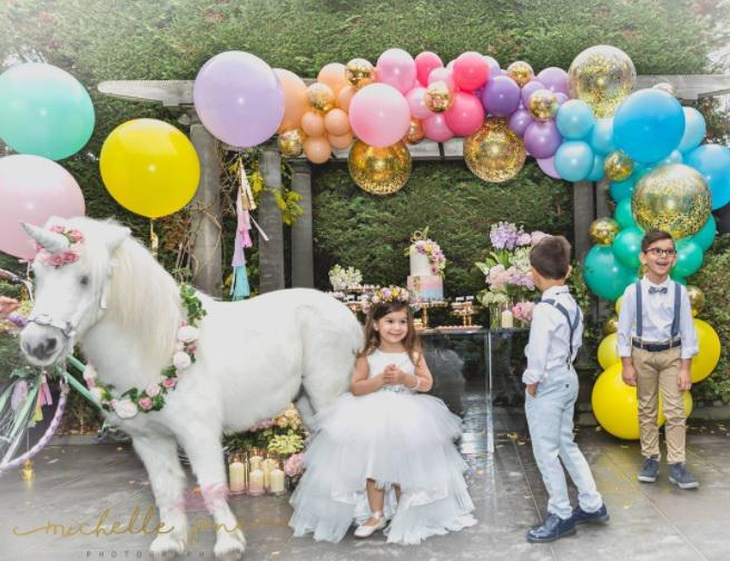 Outdoor Unicorn Birthday Party Idea Especialz